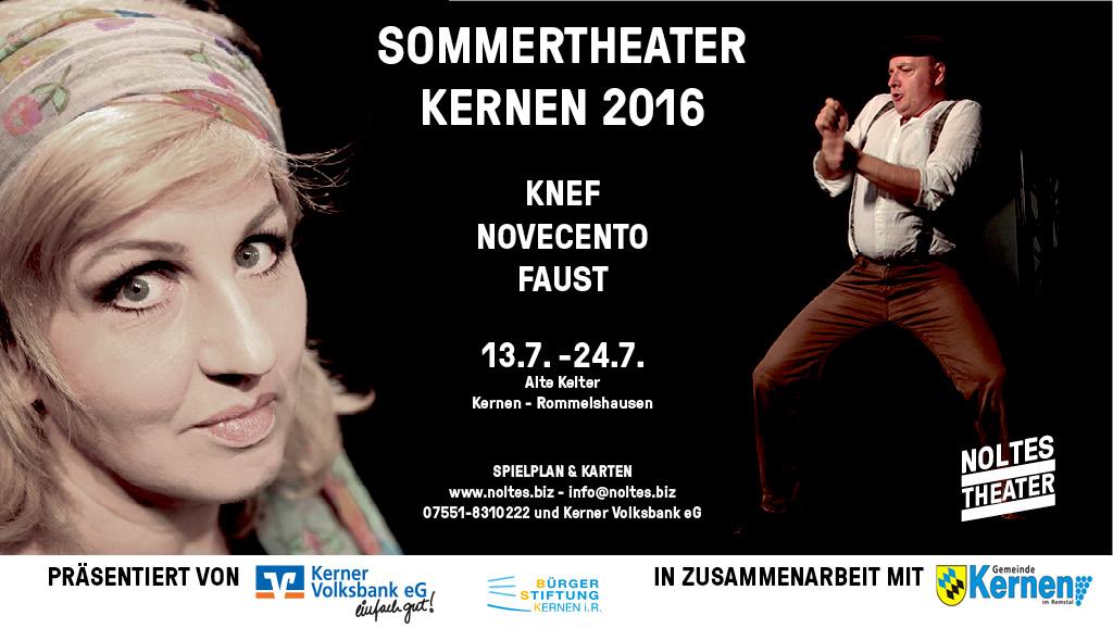 2016 Sommertheater