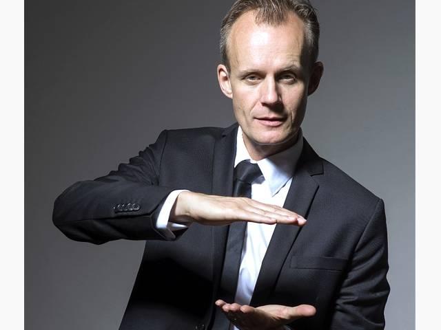 Kabarettist Max Uthoff