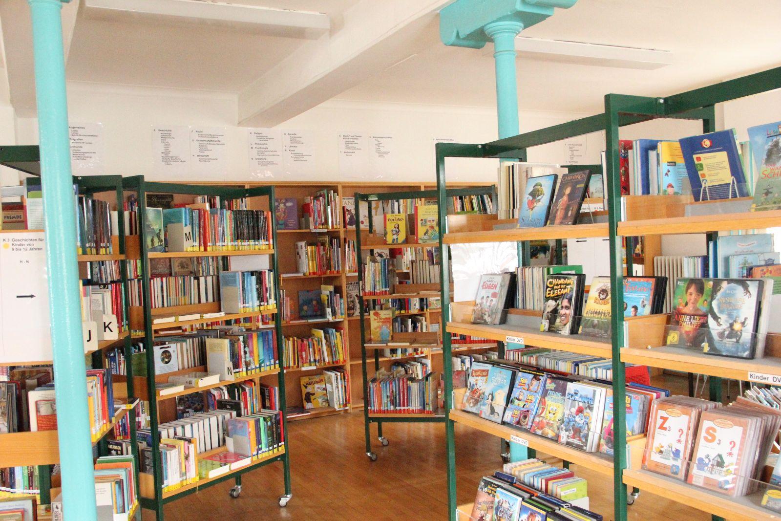 Römer Bücherei innen