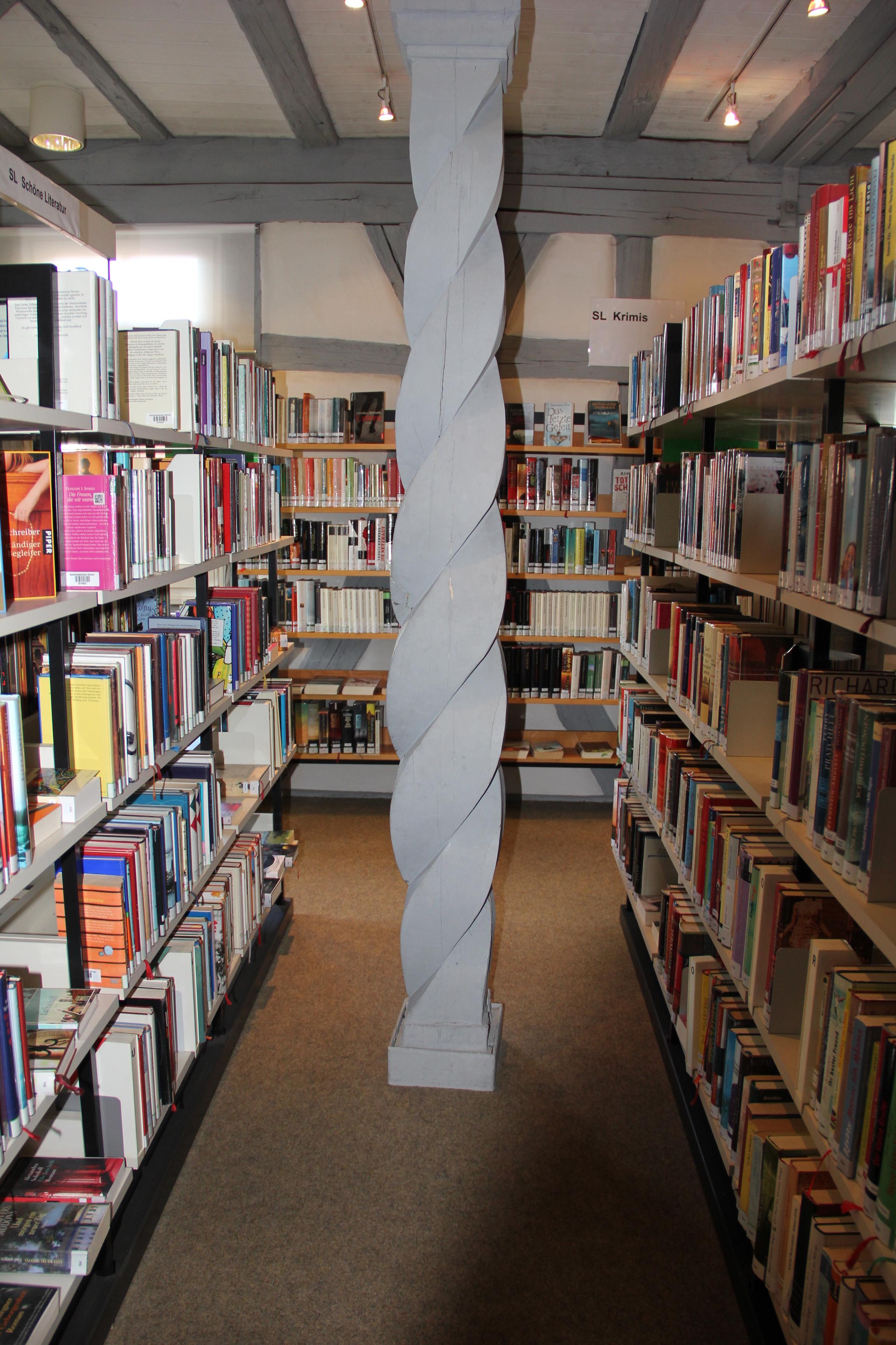 Bücherei Stetten innen