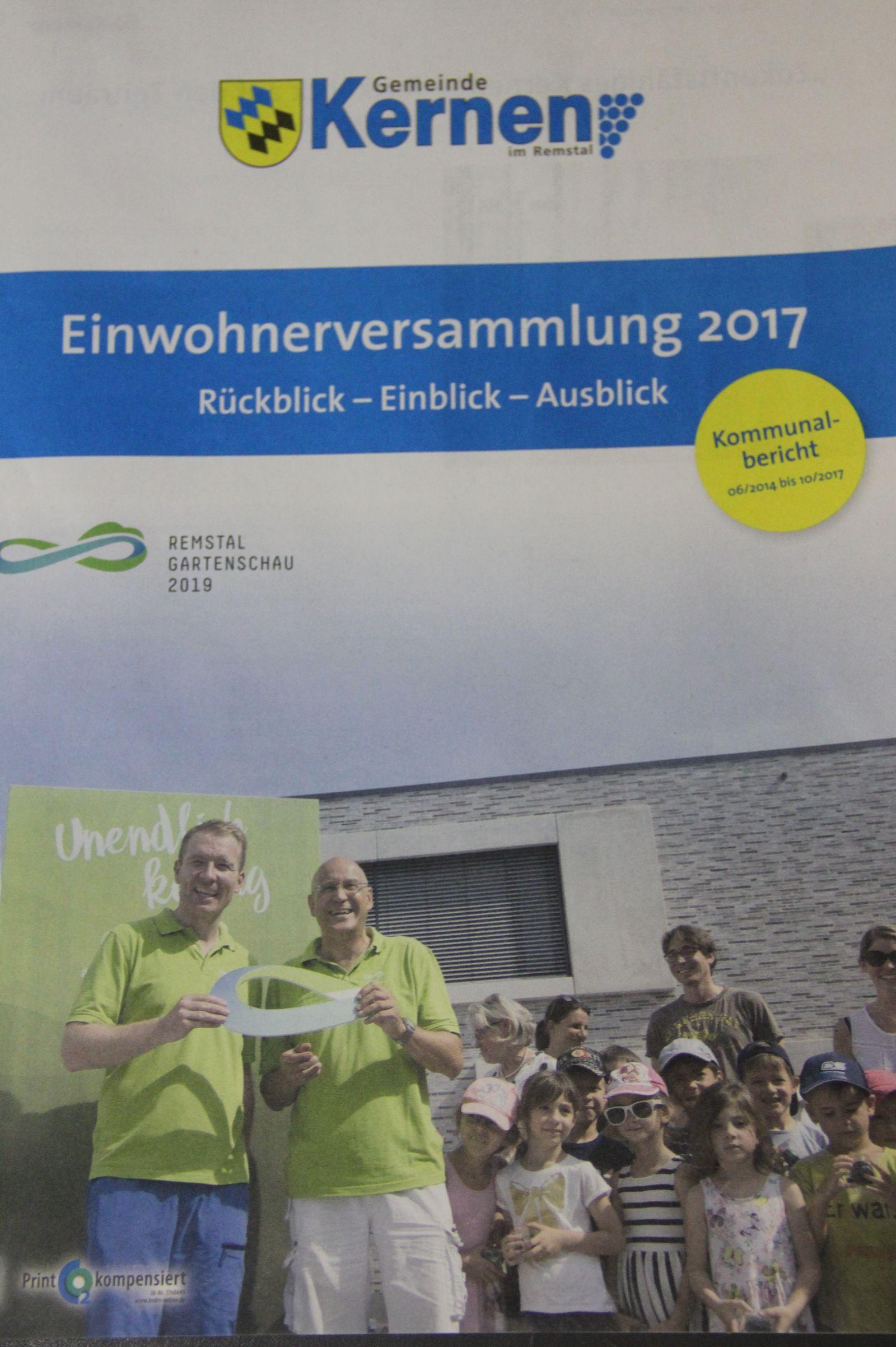 Kommunalbericht 2017