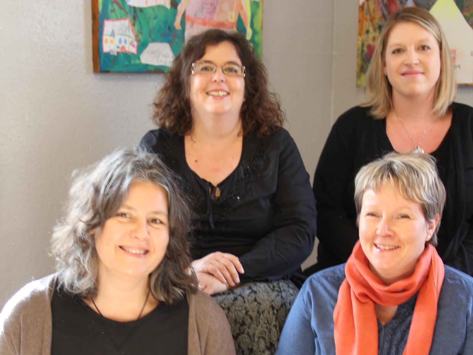 Mitarbeiterinnen der Gemeindebücherei