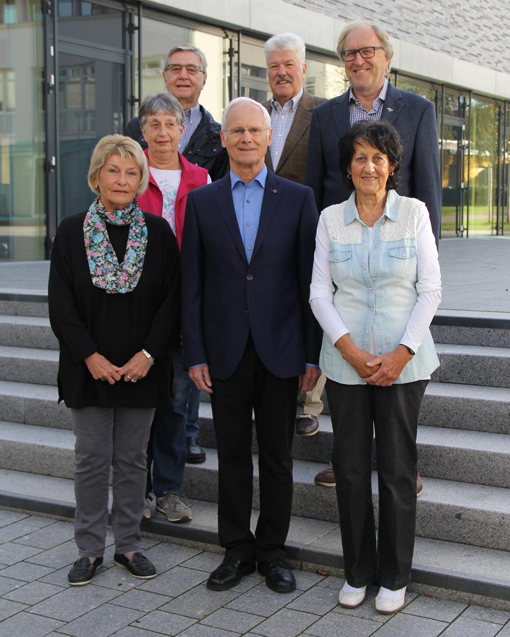 Bild vom Vorstand Seniorenrat