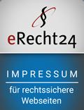 eRecht24 - Impressum für rechtssichere Webseiten
