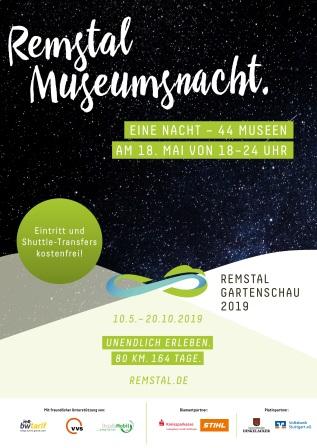 Plakat Remstal Museumsnacht