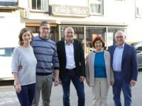 Familie Sommer, Bürgermeister Altenberger und Familie Gaiser