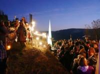 Guggenmusiker beim Winterweinweg