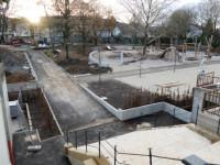 Schlosspark-Baustelle