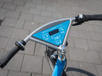 Ein typisches Regio-Rad mit blauem Display