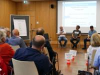 Bürger diskutieren mit Gemeinderäten