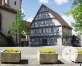 Fachwerkgebäude Altes Rathaus in Stetten