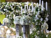 Prunkvoll-barocke Blumendekoration