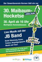 Maibaum 2019 Jubiläum
