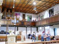 Evangelische Kirche Stetten als Ausstellungsraum