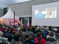Open-Air-Kino Archivbild von 2017