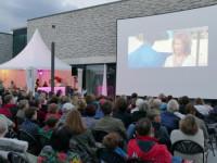 Open-Air-Kino Archivbild von 2017