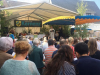 Ökumenischer Gottesdienst beim Stettener Straßenfest 2019