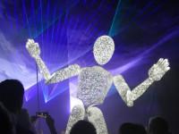 Lasershow mit Dundu