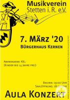 Aula-Konzert 2020