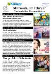 Kinoprogramm 19.02.2020
