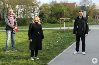 Der Vorstand des Vereins Nachhaltiges Kernen: Thomas Jüttemann, Ina Mohr, Andreas Colosi (v.l.n.r.)
