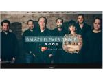 Balazs Elemer Jazz-Band besteht aus einer Frau und sechs Männerns
