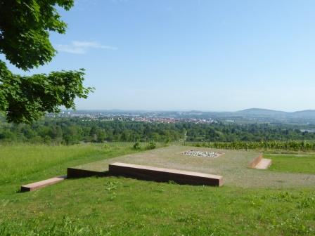 Aussichtsplattform am Harthau