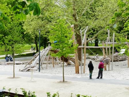 Inklusionsspielplatz im Schlosspark